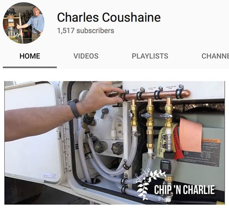 Charles Coushaine YouTube