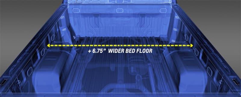 Chevy 1500 Wider Bed Floor