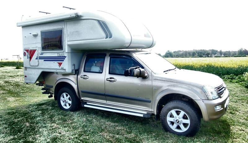 Chevy and Tischer Camper