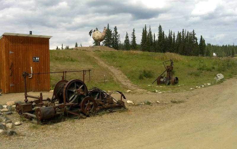 Chicken, Alaska Dirt Road