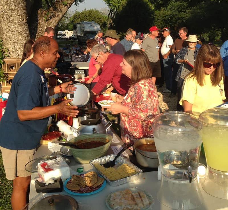 Chili Cook-Off at Texas Rally