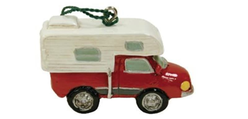Truck Camper Christmas Tree Ornament