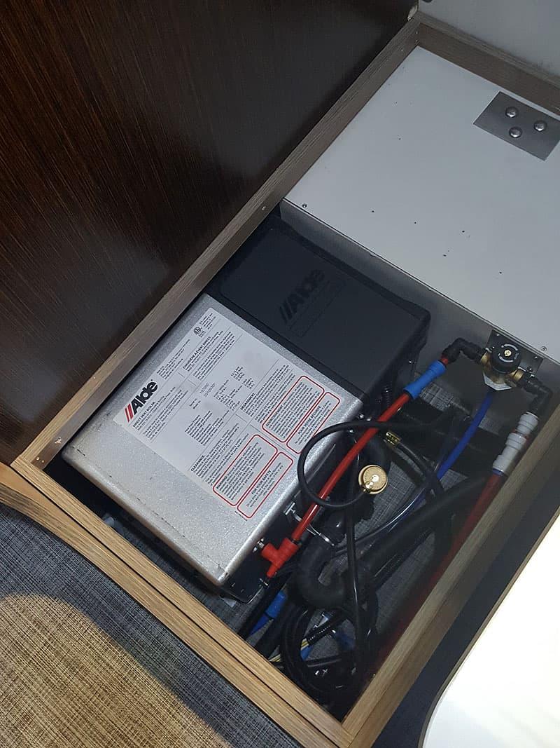 Alde Heat System Under Dinette Seat