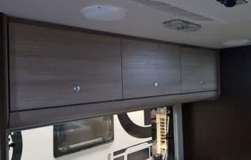 Cirrus 820 bunk cabinets