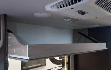 Cirrus 820 Camper bunk down