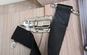 Cirrus 820 dinette cabinet release latch