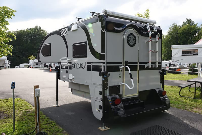 Cirrus 820 camper back door