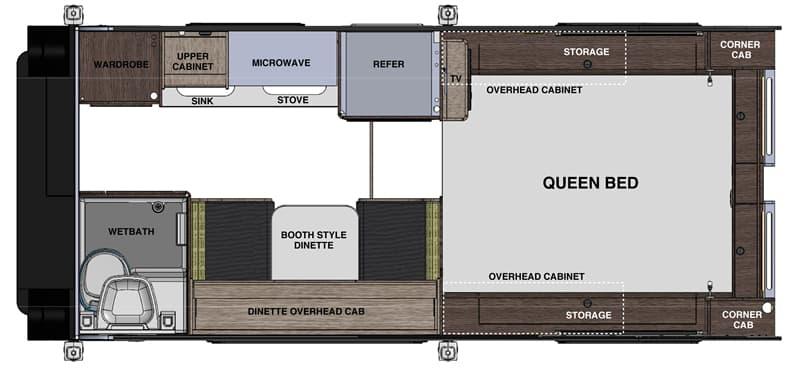Cirrus 820 Camper Review Floor Plan