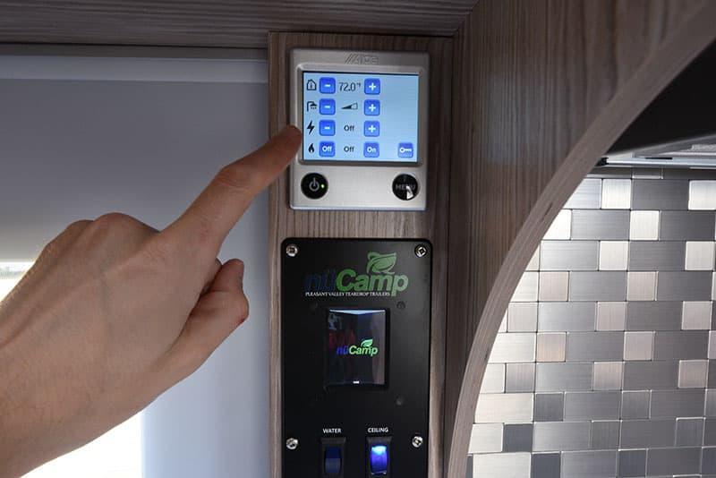 Cirrus 920 Alde Touch Screen Control Monitors