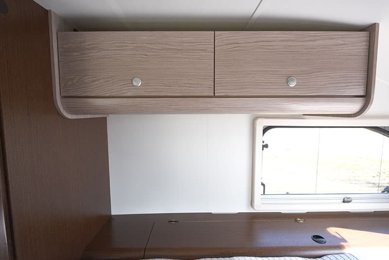 Cirrus 920 Cabover Upper Cabinets Closed