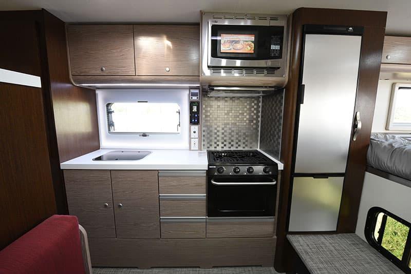 Cirrus 920 Camper Review Kitchen