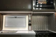 Cirrus 920 Kitchen Area