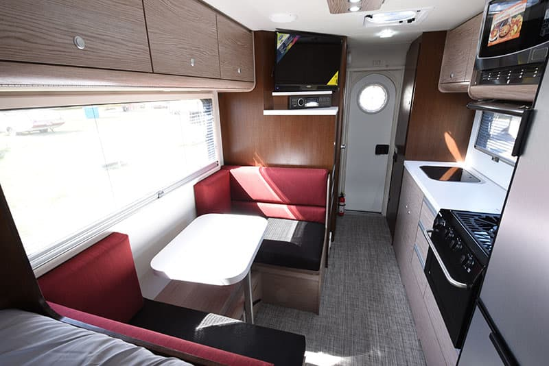 Cirrus 920 Camper Inside Front To Back