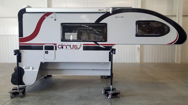 Cirrus 920 camper passenger side