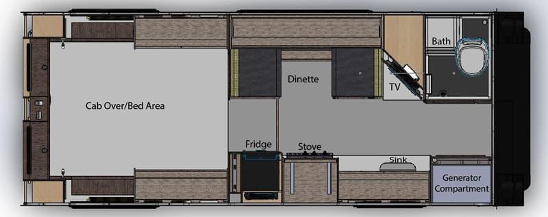 Cirrus 920 floor plan