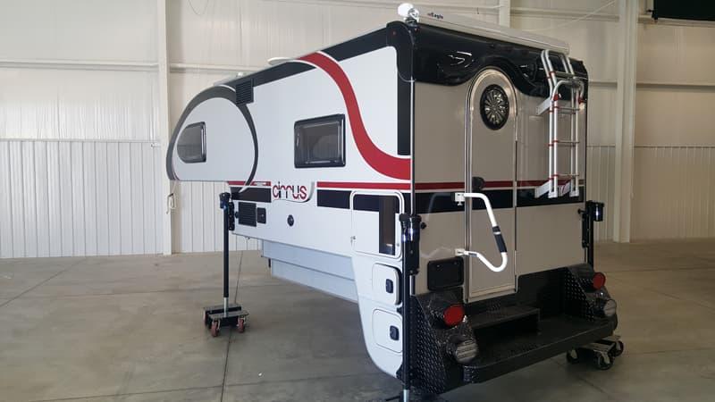 Cirrus 920 rear bumper camper