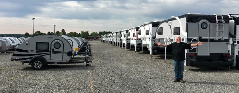 Stephen Smith at Cirrus Camper factory in Ohio
