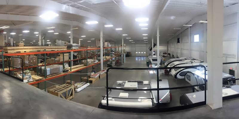 Cirrus Camper Expansion into new building