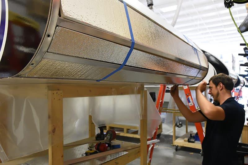 Cirrus 820 front insulation