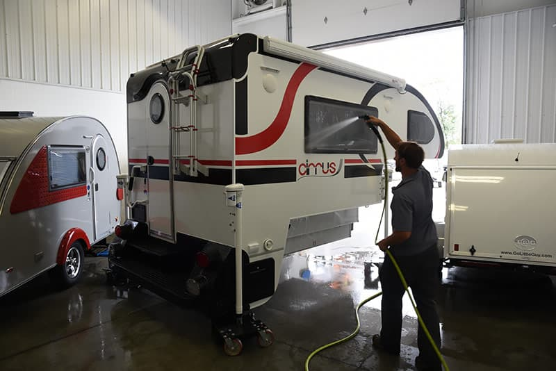 Cirrus camper leak test
