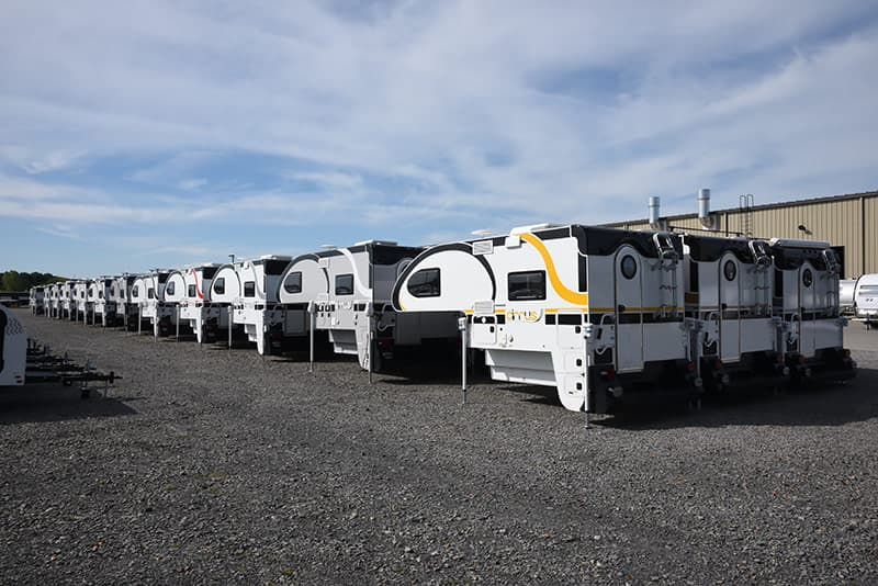Cirrus factory yard with inventory