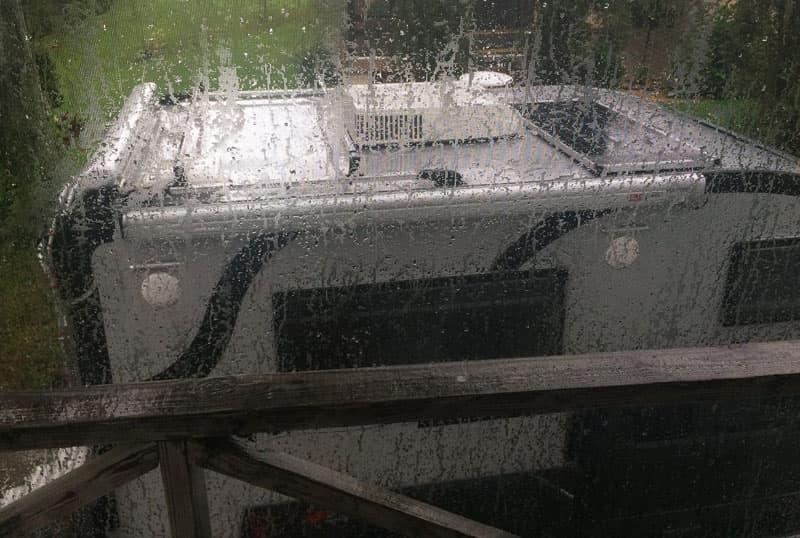 Cirrus Camper Hurricane Irma storm