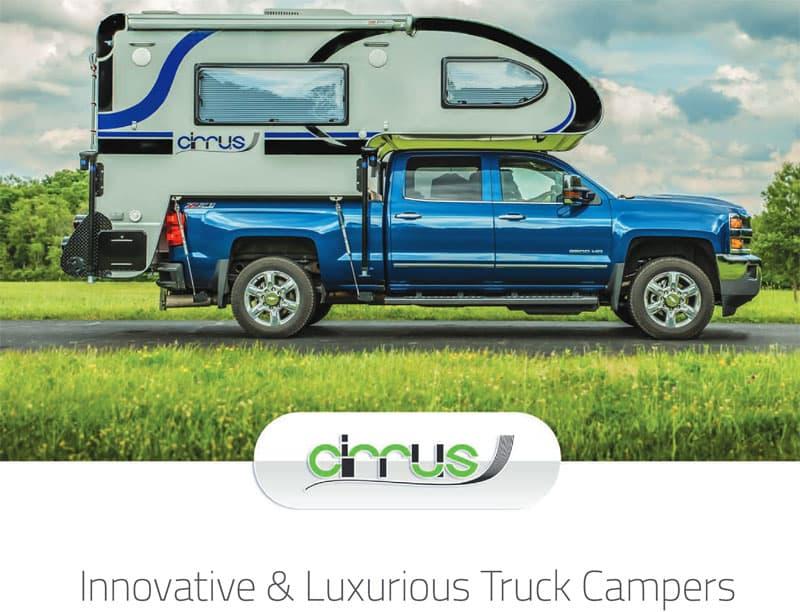 Cirrus Truck Camper Brochure 2018
