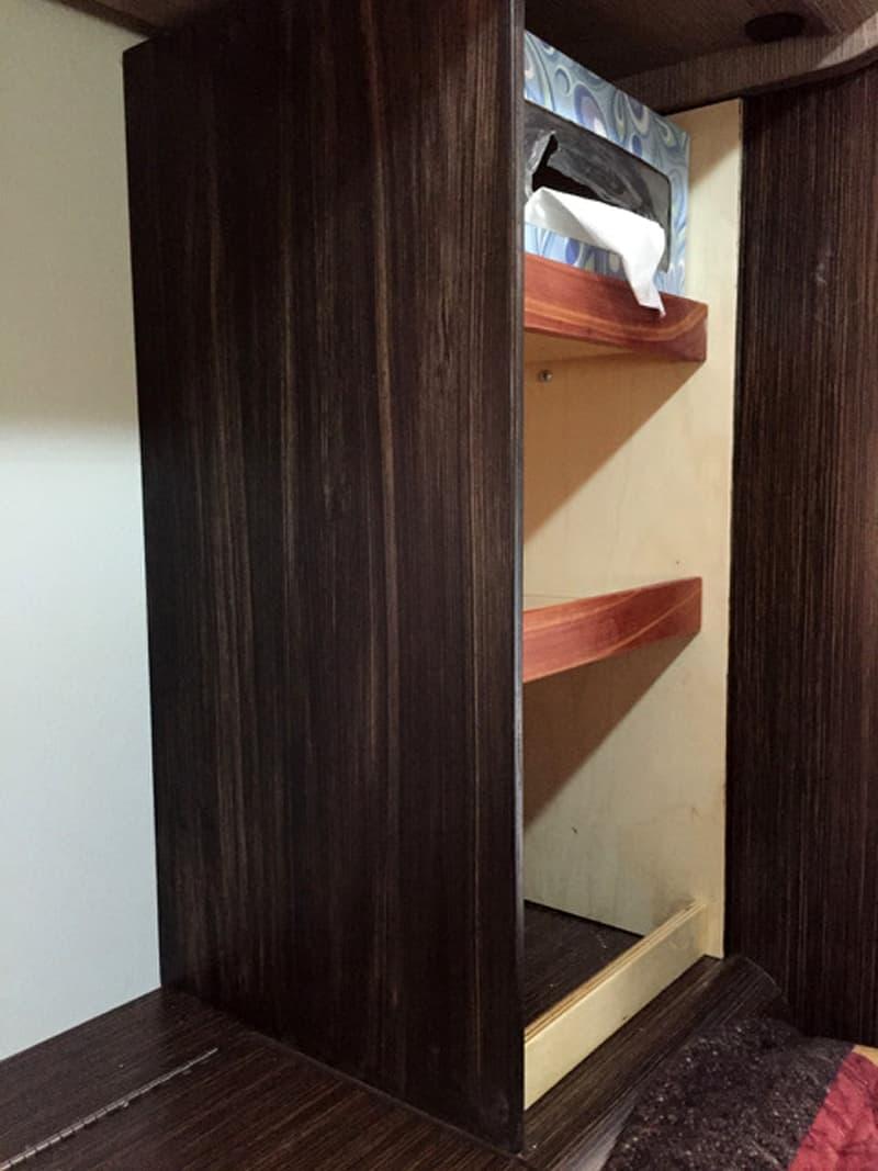 New cabinet in Cirrus Camper