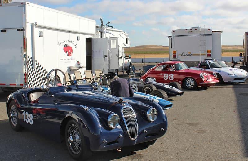 Classic Vintage Cars Racetrack