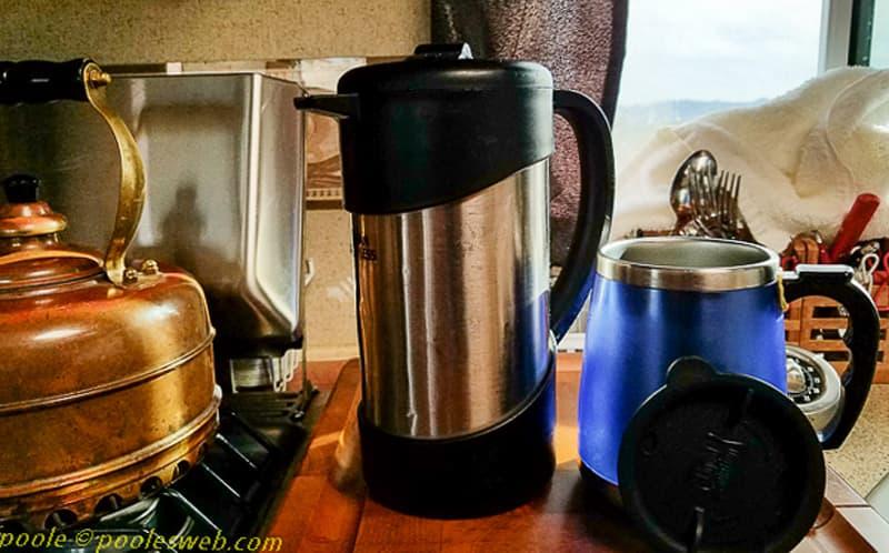Coffee In Arctic Fox Camper