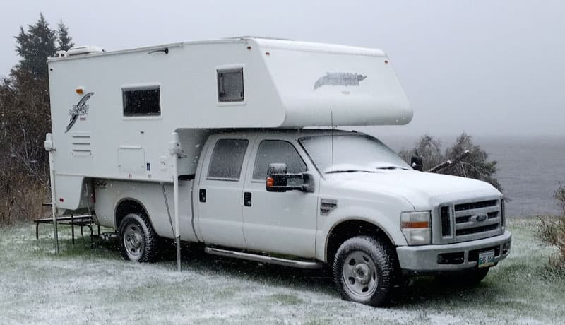 S&S Camper in the winter