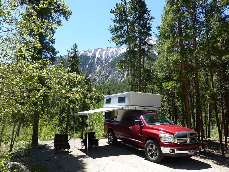 Twin Lakes Campsite, Colorado Rockies