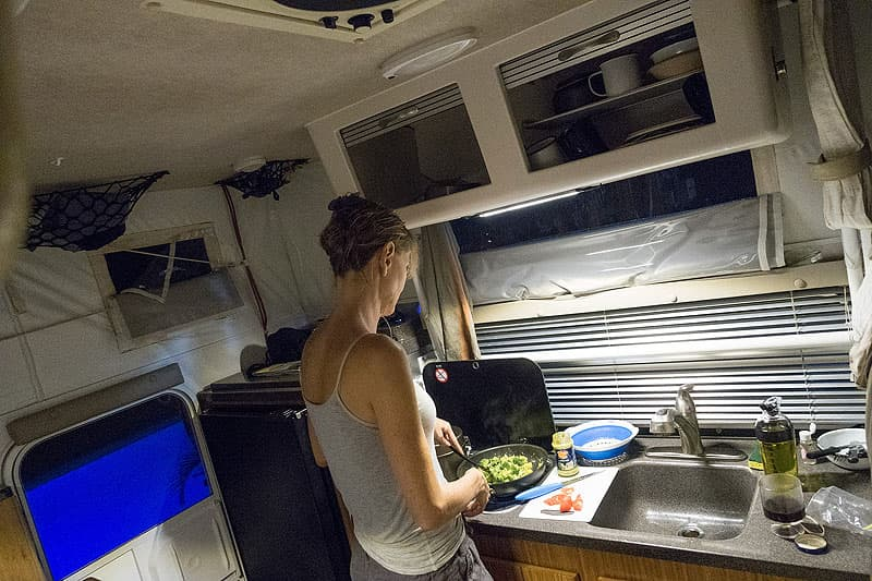 Columbia-cooking-in-camper