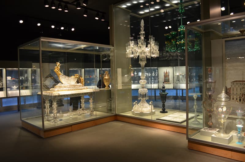 Corning Museum Glass Exhibits