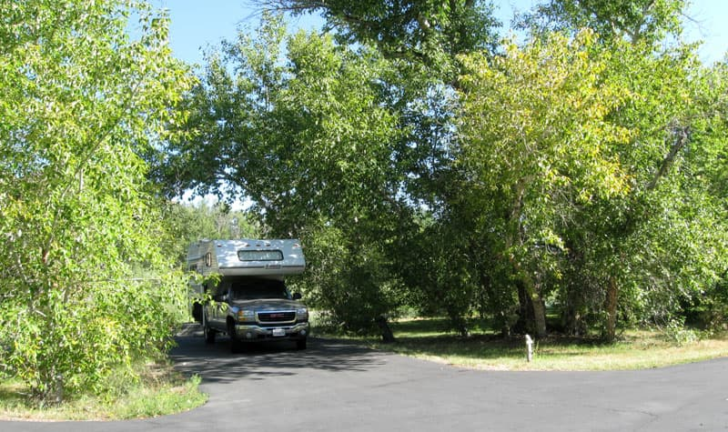 Cottonwood Campground, Challis, Idaho