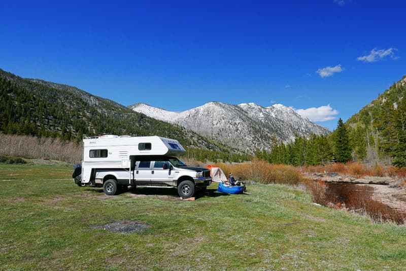 Cottonwood Lake, Buena Vista boondocking