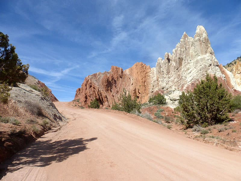 Cottonwood Road to Grosvenors Arch