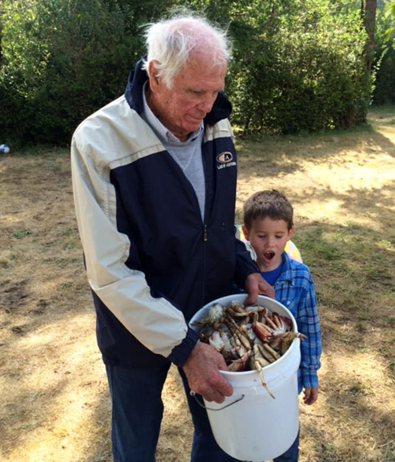 Crabbing vacations for Hellwig family