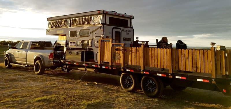 Cram-A-Lot Truck Camper Complete