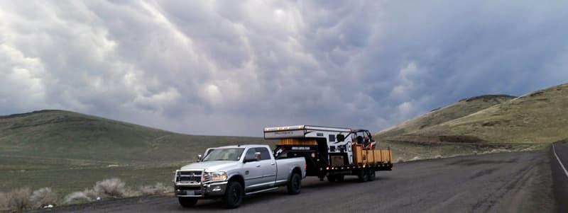 Cram-A-Lot Truck Camper Rig