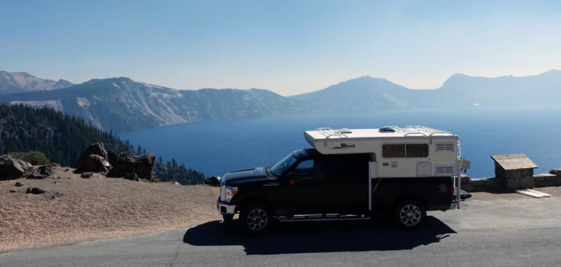 Crater Lake truck camper