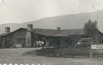 Buffalo Bill Museum Wyoming in 1931