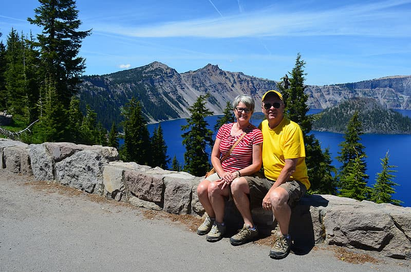 Crater Lake hikes