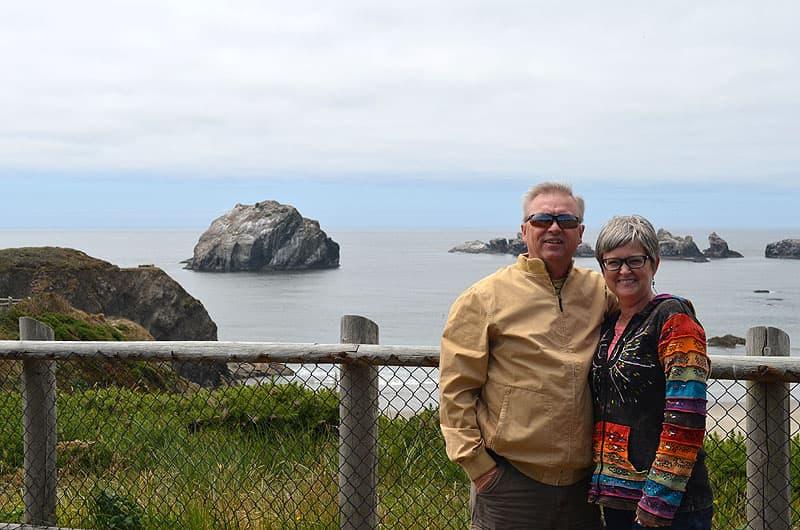 Lady's Face Rock, Oregon