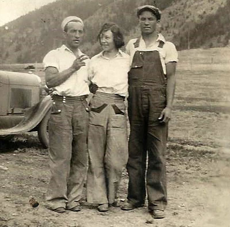 Miners and Marty in Idaho Springs