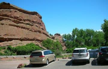 Red Rocks in Colorado 2015