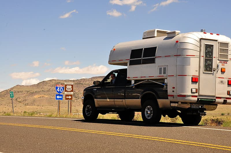 Route 66 Avion truck camper