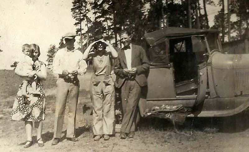 Cross country road trip in 1931