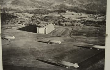 Tillamook Oregon Air Museum 1942
