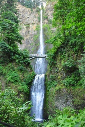 Multnomah waterfall 2015